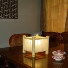 Likely bamboo lamp