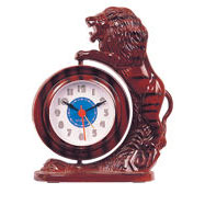 lion-jumping alarm clock