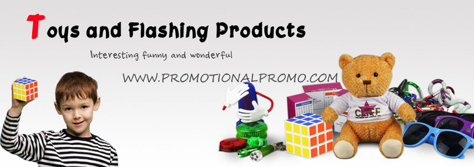 Toys and flashing products