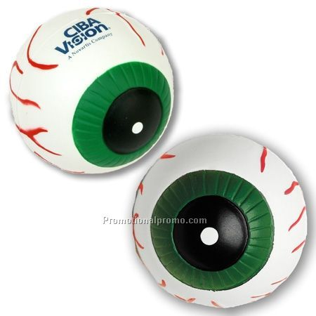 Eyeball Stress Reliever, PU Eyeball stress ball