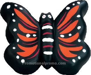 Butterfly pu stress ball