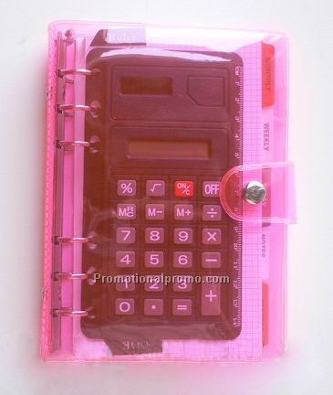Calculator binders