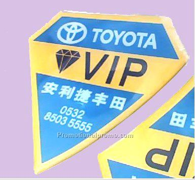 Promotional Cheap Dome Sticker