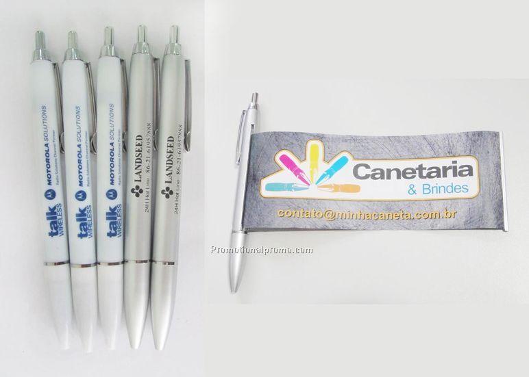 Logo flyer pen, Roll-up ballpoint pen,Banner pen