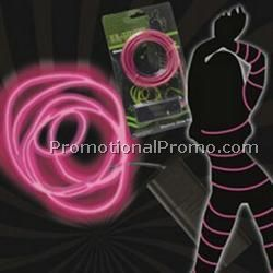 Pink Light Up Electroluminescent Wire