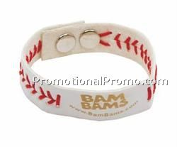 Sports Awareness Bracelet Baseball/ Blank / Economy