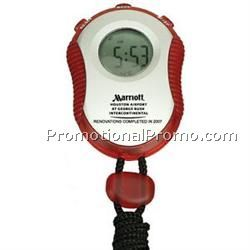 Red Sport Stop Watch