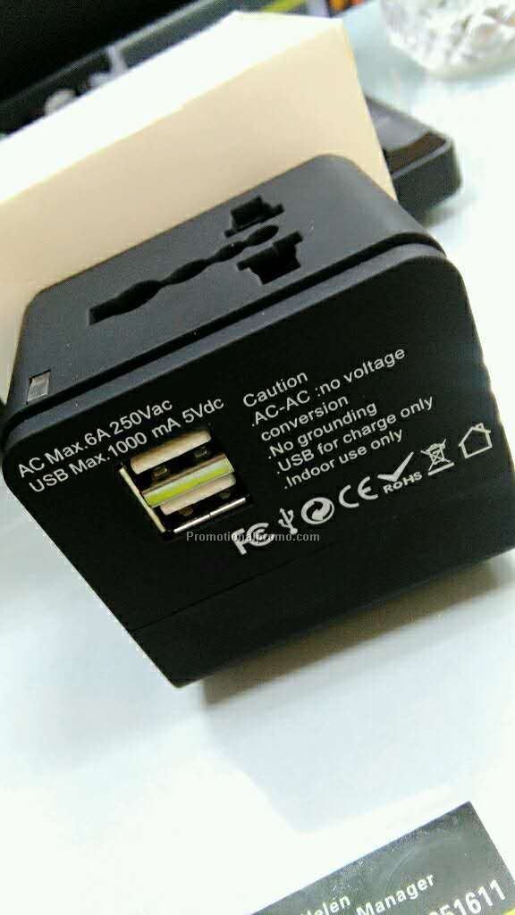 Multi-function travel adapter Photo 3