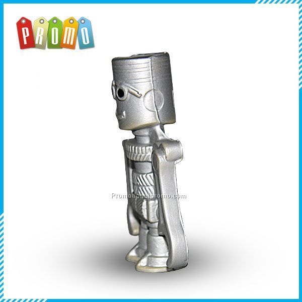 Fun robot pu stress ball ,PU toy Photo 2