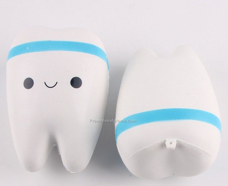 Jumbo Slow Rising Teeth Soft Squeeze Toy Photo 2