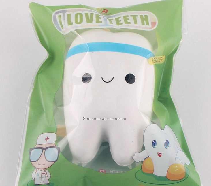 Jumbo Slow Rising Teeth Soft Squeeze Toy Photo 3