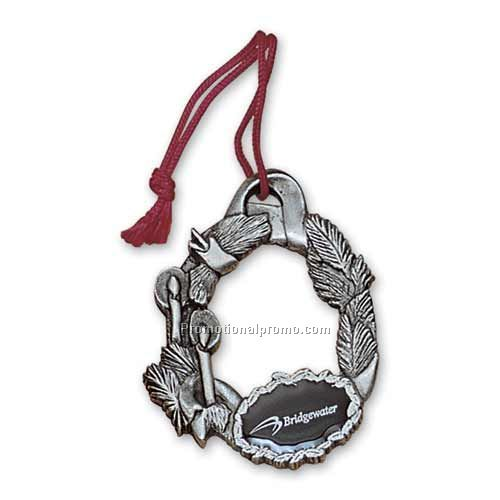 D solid pewter ornament china wholesale na