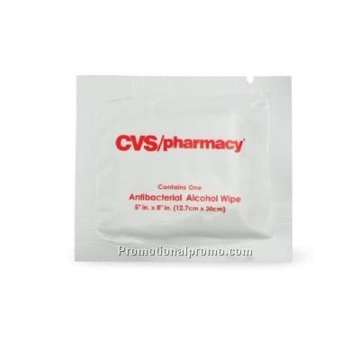 Custom Imprinted Alcohol Antibacterial Wet Wipes
