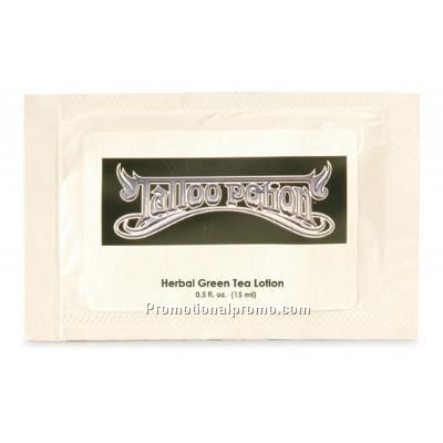 Herbal Green Tea Lotion-0.50oz Packettes