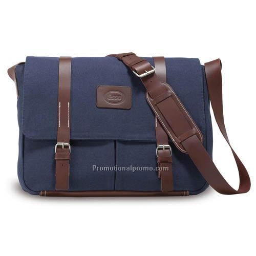 Hartford Messenger Bag - Navy