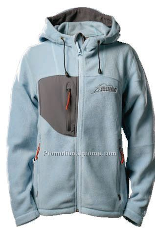 Polar Fleece Hooded Jacket -Women China Wholesale
