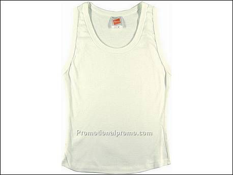 Hanes T-shirt Tank Top Spicy, White