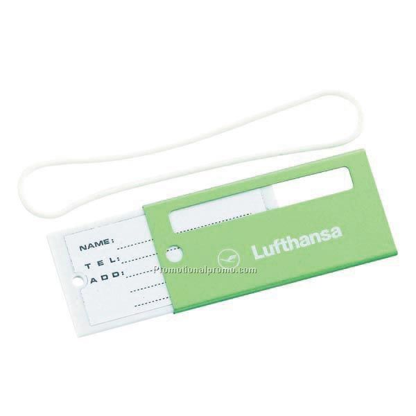 Metallic-Color Luggage Tags LT-254GN