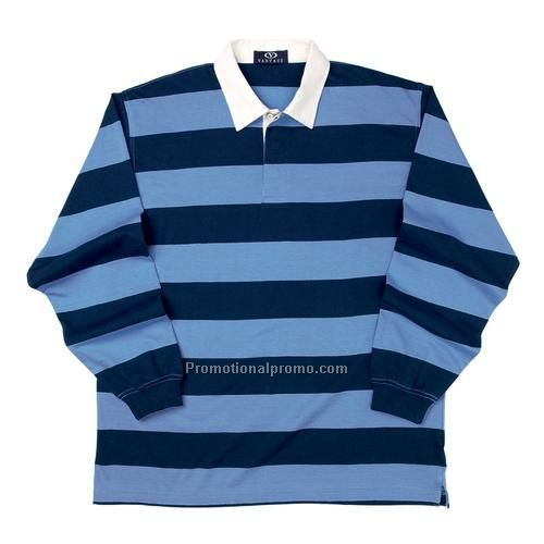 Polo - Striped Rugby