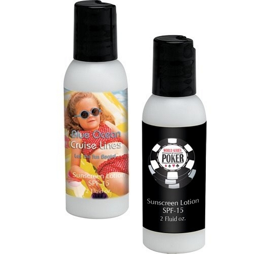 2oz Sunblock w/4 Color Label SPF30