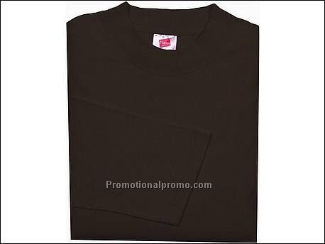 Hanes T-shirt Heavy-T L/S, Brown
