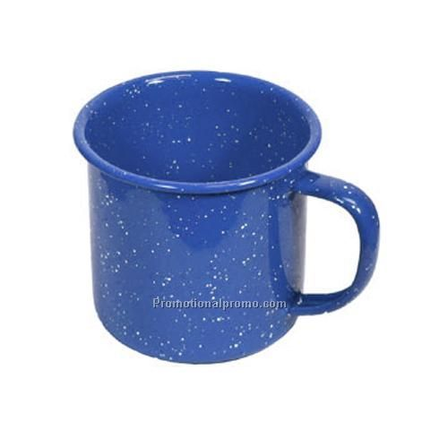 Mug - Enameled Tin Cup, 18 oz.