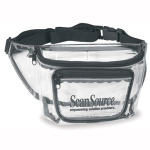 PROMOTIONAL CLEAR FANNY PACK