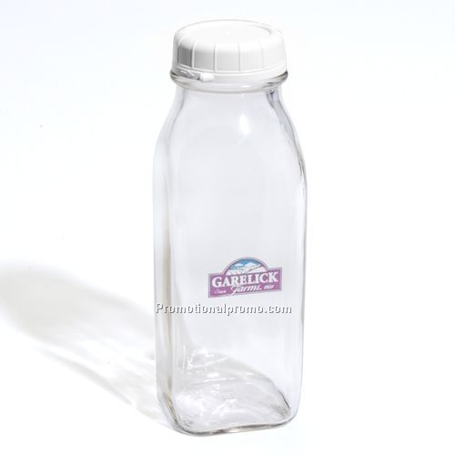 Milk Bottle - 1/2 Liter Glass Milk Bottle