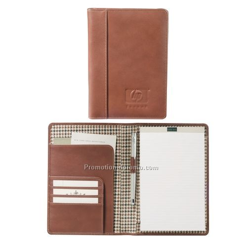 Pad Folio - Cutter & Buck® Jr. Writing Pad, 8.75