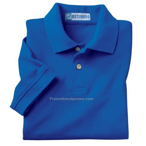Polo shirt youth extreme 60 combed cotton 40 for Custom polyester polo shirts