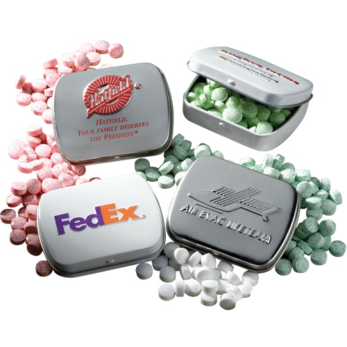 Slalom - Embossed Mint Tin - Mini Mints