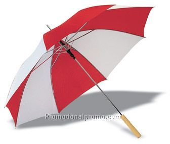 Bi-colour umbrella