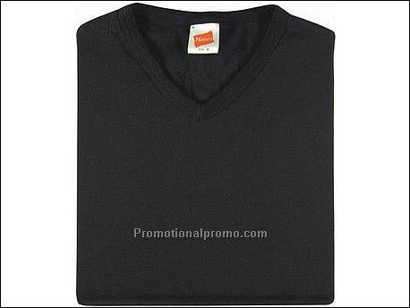 Black Hanes t Shirt Hanes T-shirt Rib-t V-neck