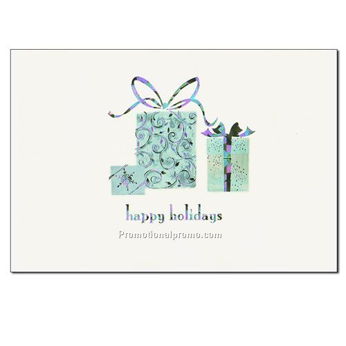 holiday card happy holidays gift - Happy Holidays Card