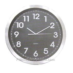 stainless steel wall clock china wholesale wcs53144. Black Bedroom Furniture Sets. Home Design Ideas