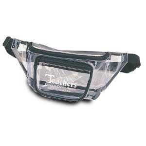 Clear 3 Pocket Fanny Pack