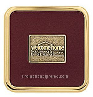 Brass Square Coaster Weight(TM) Coasters