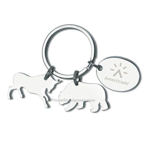 Keyholder with Charms, Animals