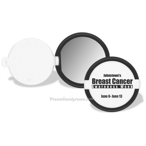 "Mirror - Radiant Reflections Pocket Mirror, Impact Styrene, 2 3/8"" x 2 3/8"" x 1/8"""