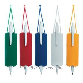 Two-tone Hangman Neck Pen