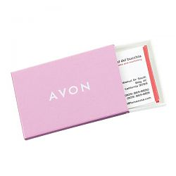 Metallic-Color Business Card Holder BC-255PK