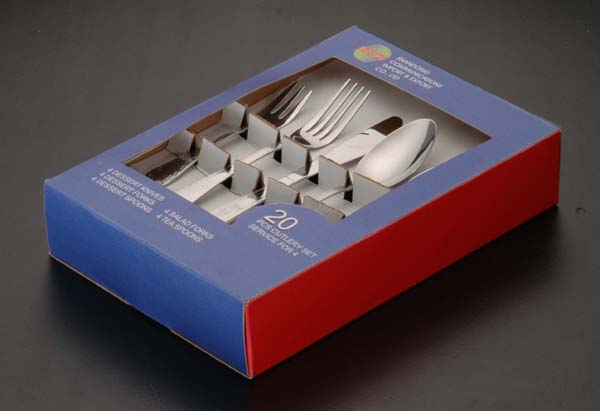 Serving pieces flatware