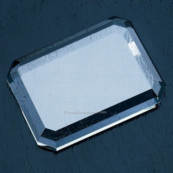Flat Cut Rectangle Paperweight C-GPR34