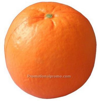 Orange shaped PU Stress Reliever
