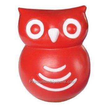 Promotional PU Owl Stress Ball, Owl PU Toy