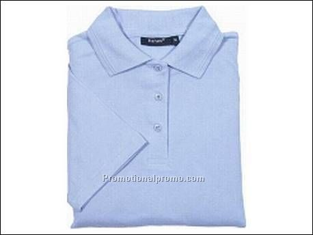 Hanes Top Polo Elegance, Sky Blue