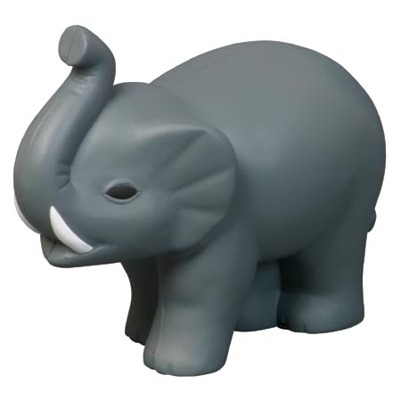 Elephant with Tusks Stress Reliever
