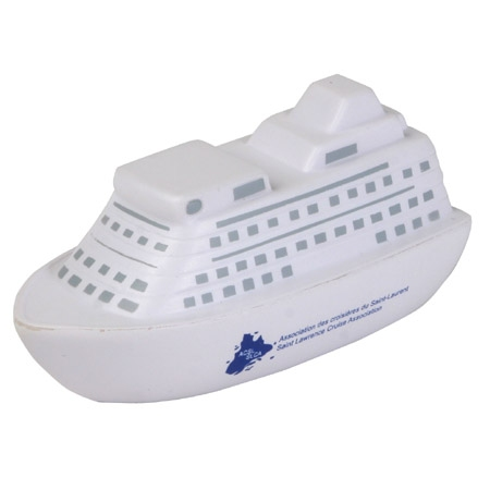 Cruise Ship shaped PU Stress Reliever