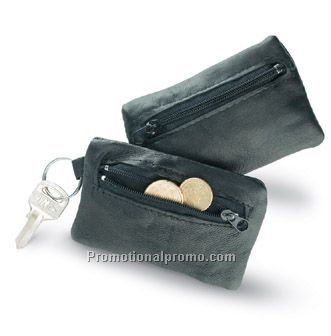 Real leather key case