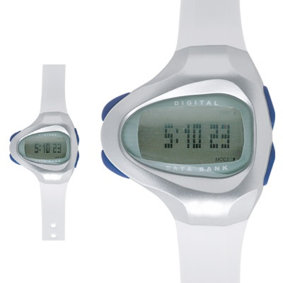 Data Bank Digital Watch